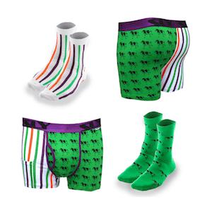 matching socks and undies