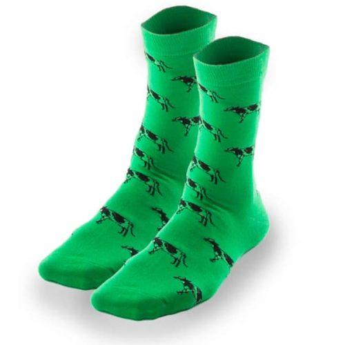 socks green