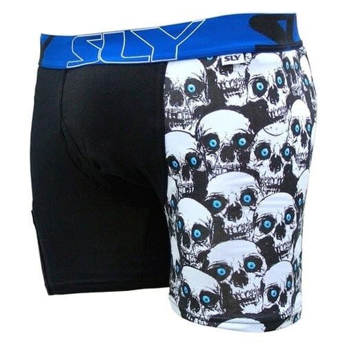 Mens Skull Boxer Briefs