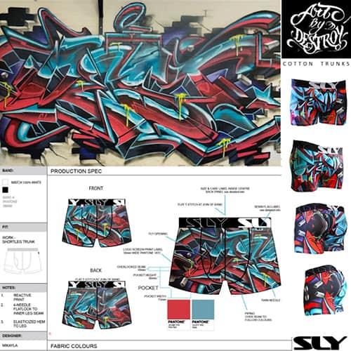 mens underwear pattern