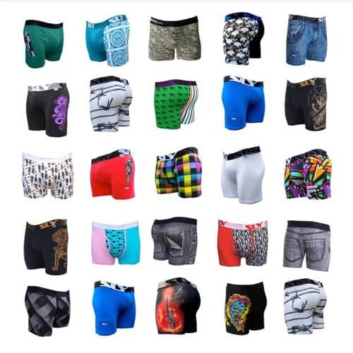six pack mens underwear