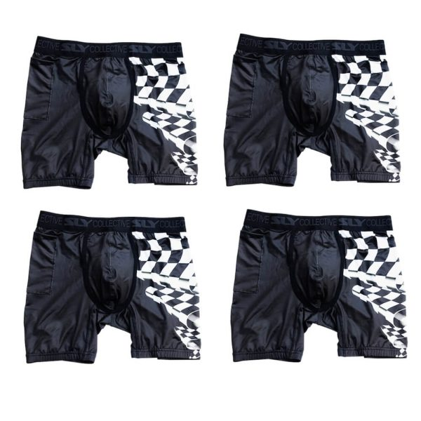 4 Pack quickdry boxer briefs