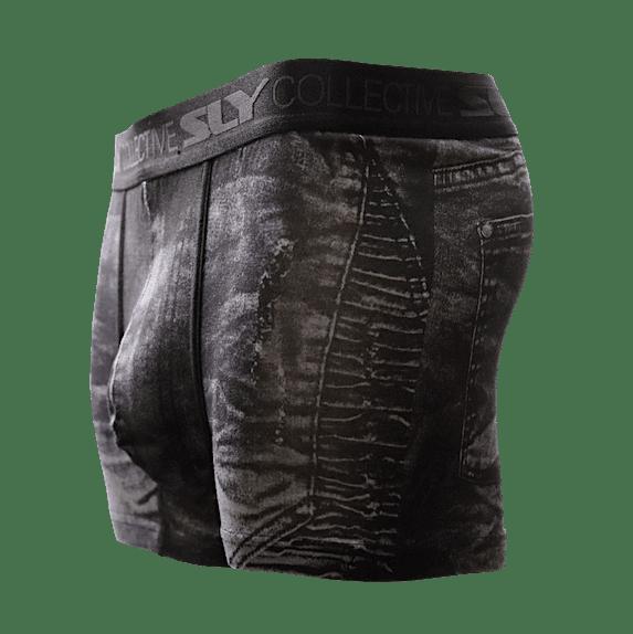 black underwear