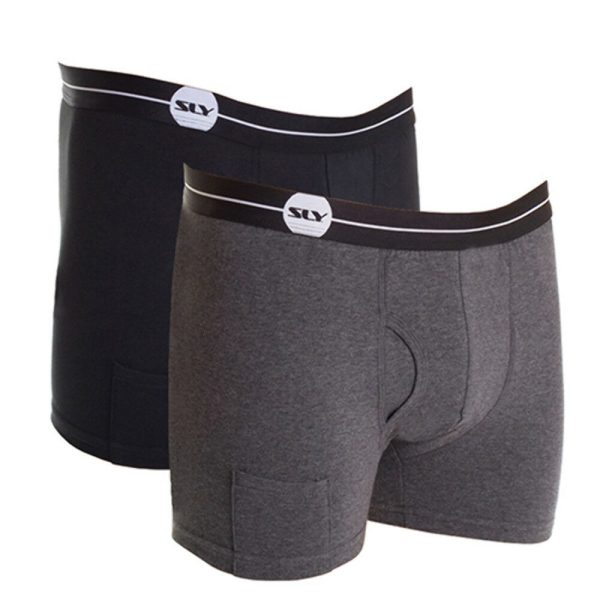 2 pack cotton trunks